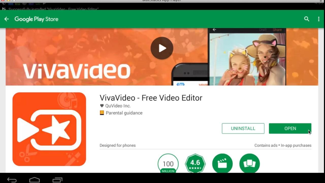vivavideo video editor para pc