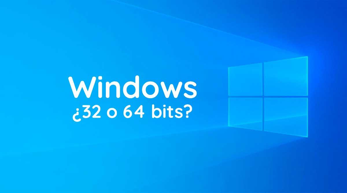 windows 10 es 32 o 64