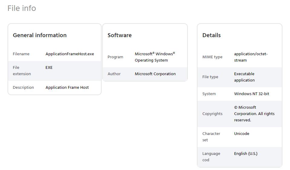 ¿Qué es un host de marco de aplicación?