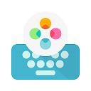 Teclado ergonómico Fleksy 2020 -Teclado emoji GIF