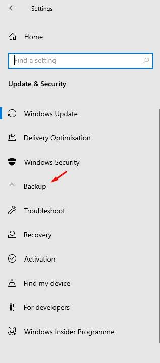 como hacer copia de seguridad windows 10