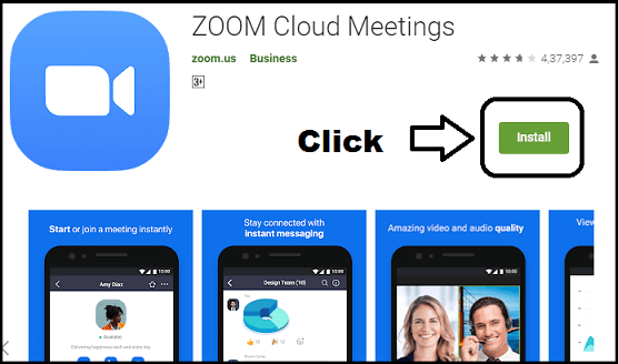 zoom cloud meetings pc