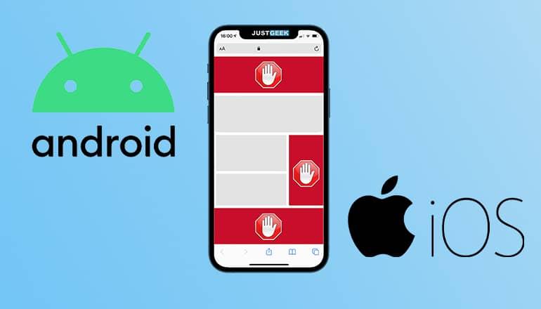 Bloquear anuncios en Android y iPhone