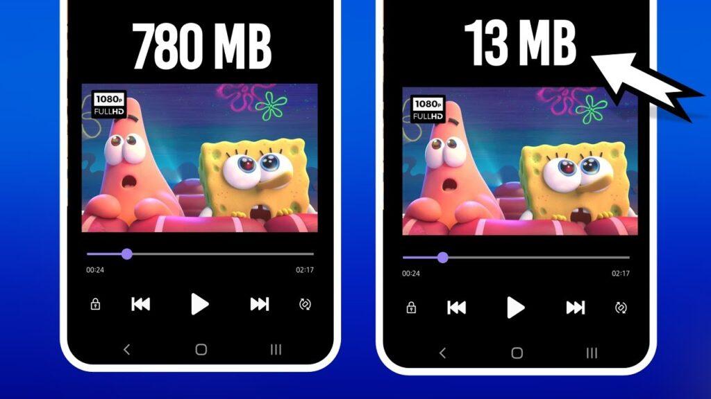 comprimir videos sin perder calidad en Android