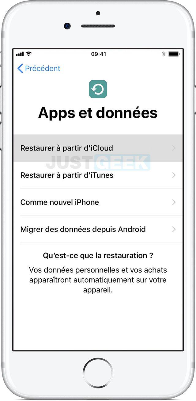 Restaurar iPhone iCloud
