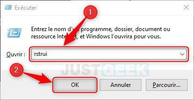 restaurar Windows 10 desde imagen de seguridad