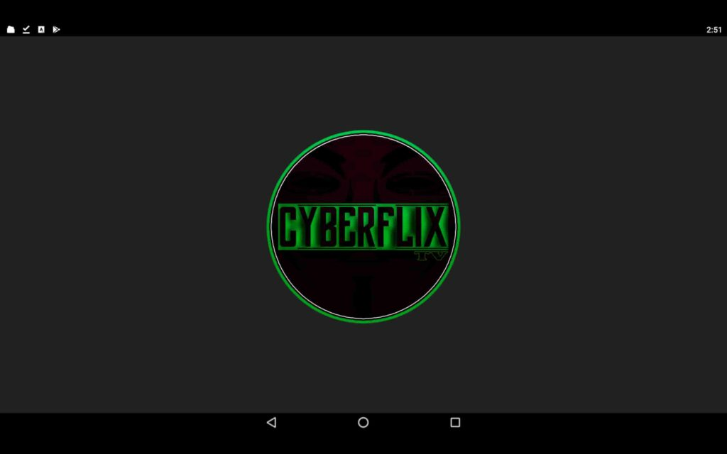 Aplicación CyberFlix para Windows