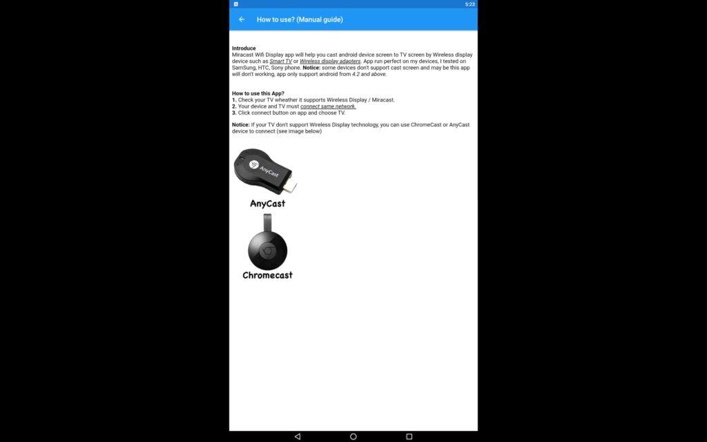 Descarga Miracast para PC