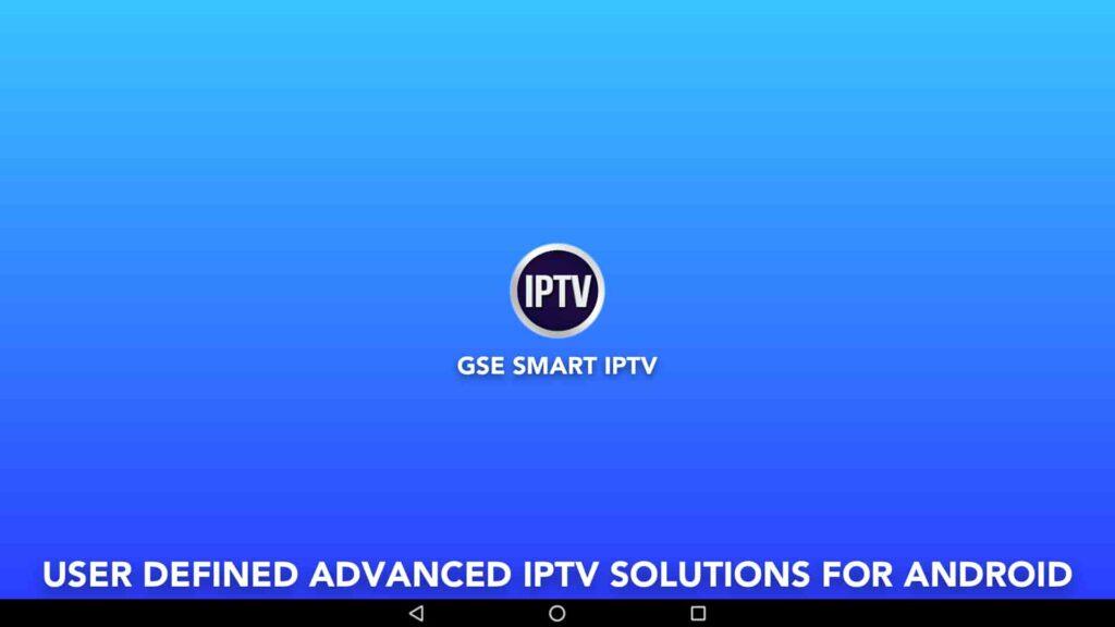 Aplicación de Windows GSE Smart IPTV