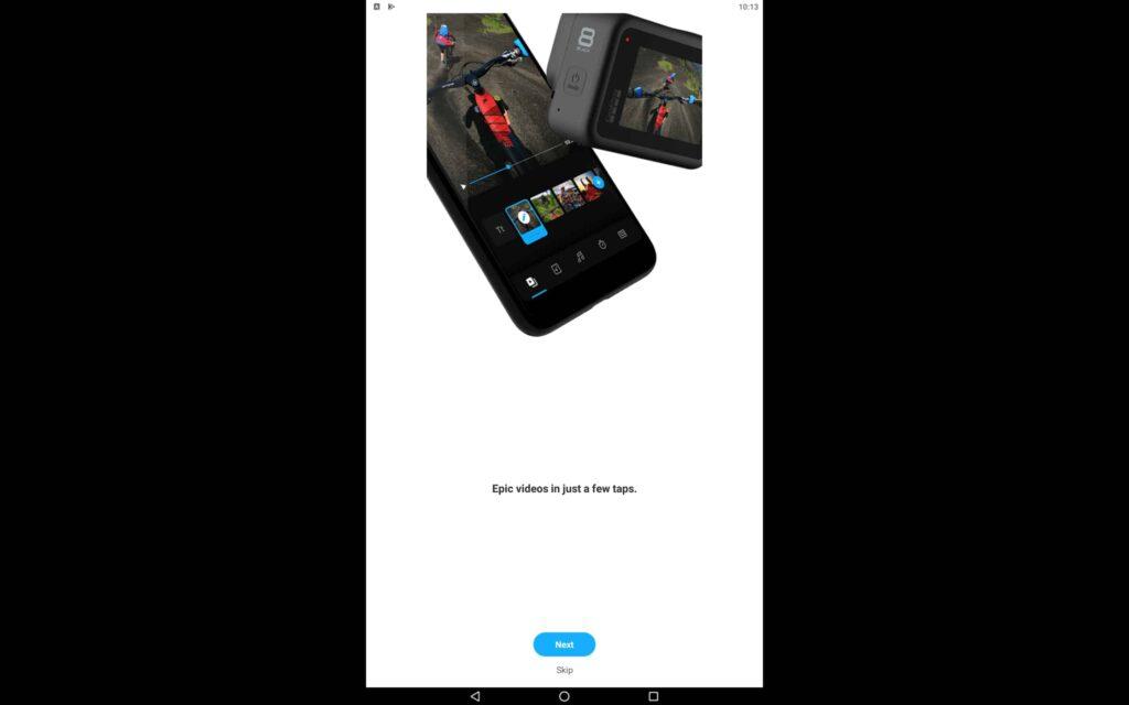 Aplicación GoPro para Windows
