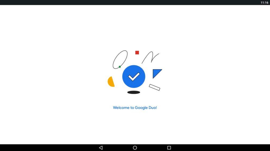 Aplicación de Windows de Google Duo