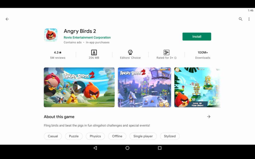 Instalar Angry Birds en PC