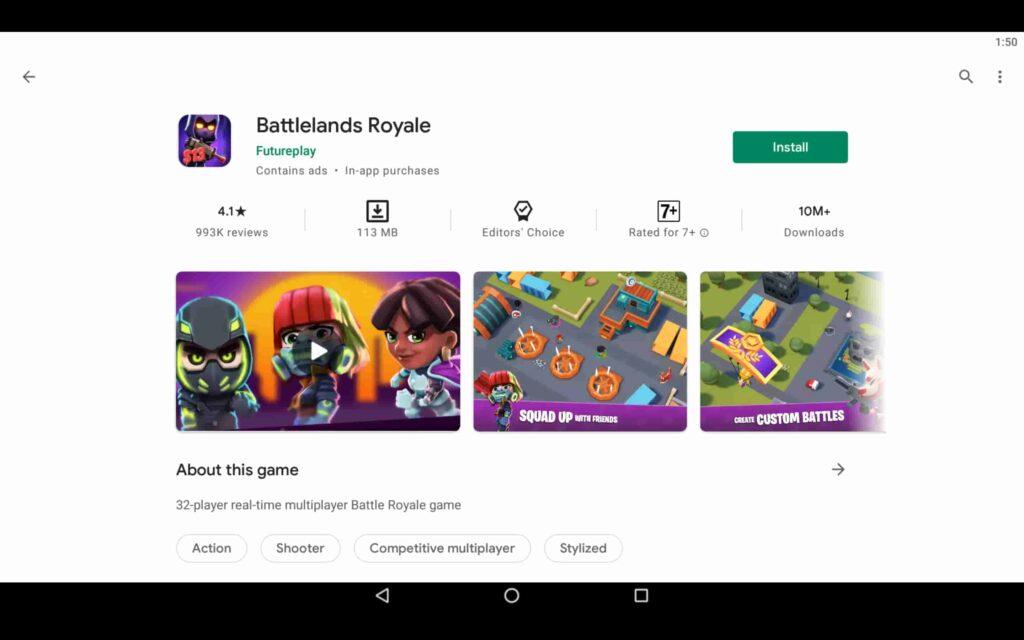 Instalar Battlelands Royale en PC