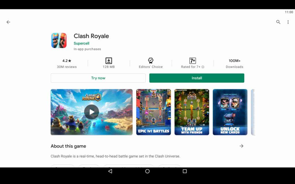 Instalar Clash Royale en PC
