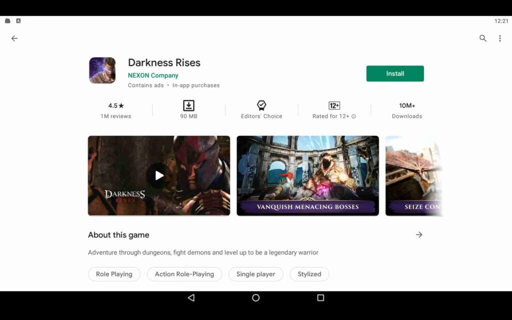 Instalar Darkness Rises en PC