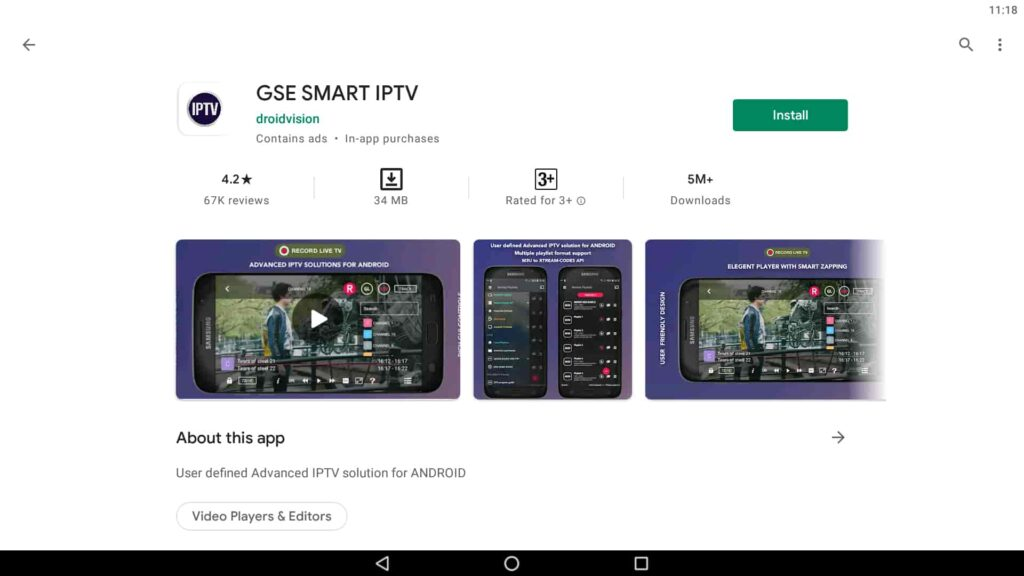Instale GSE Smart IPTV en el PC