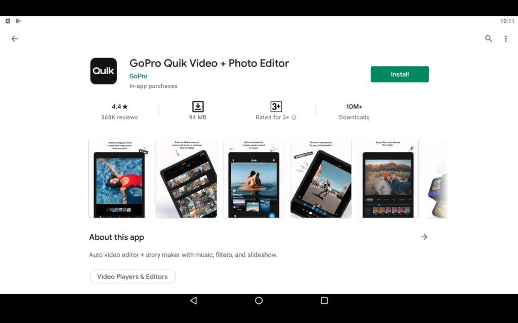 Instalar la aplicación GoPro en el PC