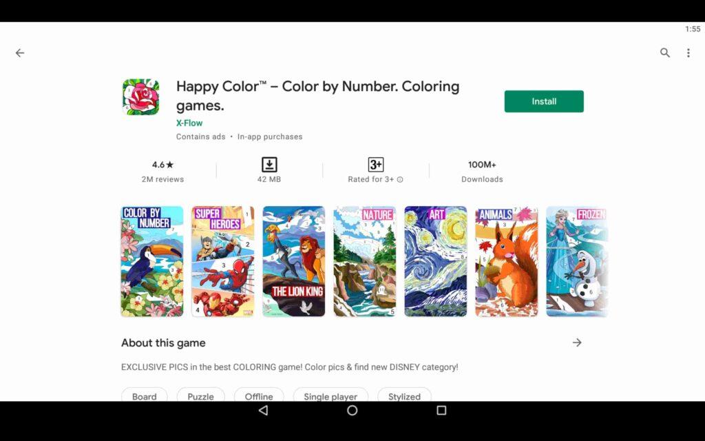 Instalar Happy Color en PC