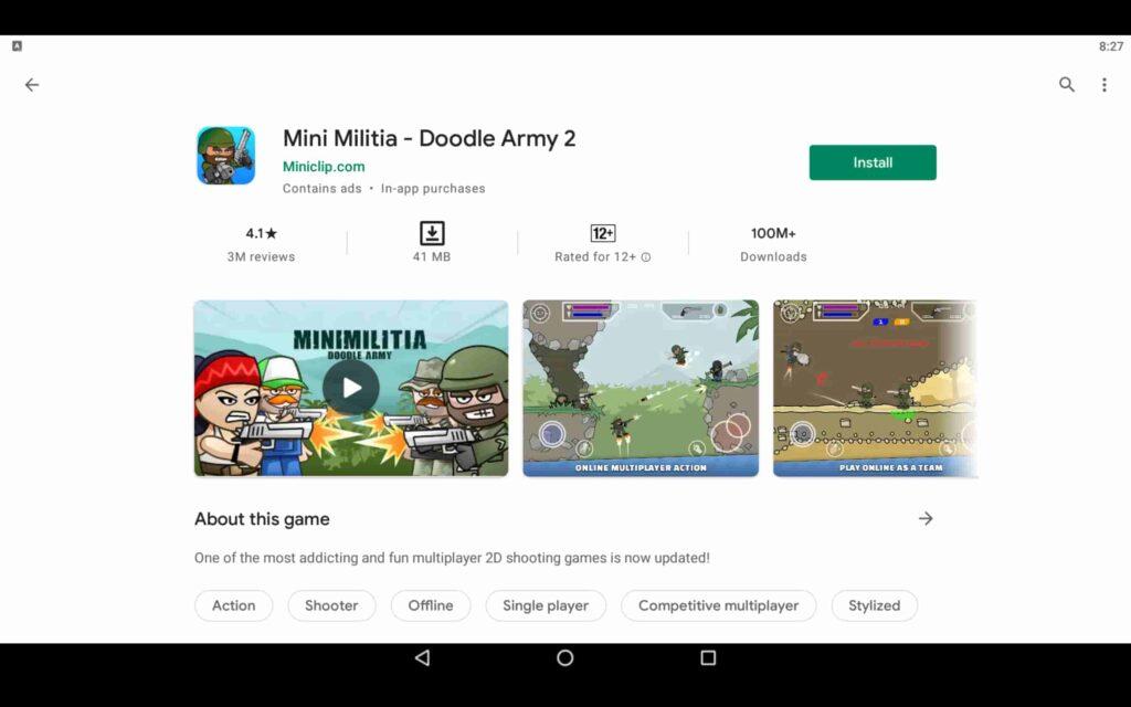 Instalar Mini Militia en PC