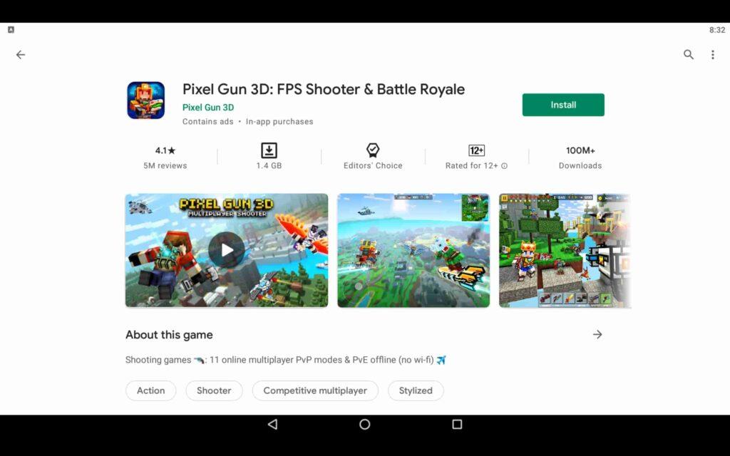 Instalar Pixel Gun 3D en PC