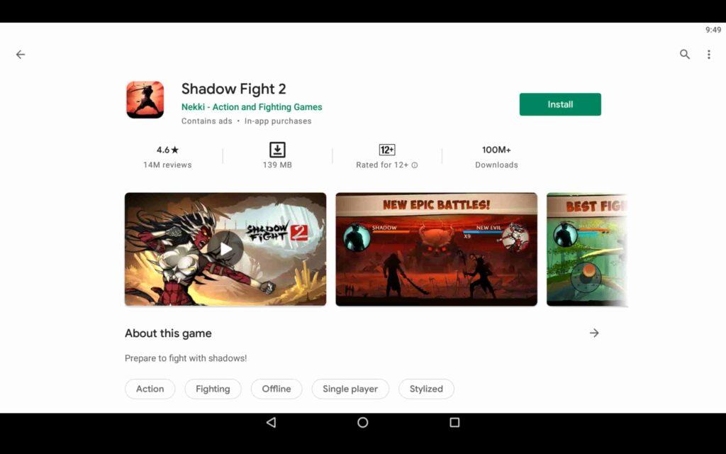 Instalar Shadow Fight 2 en PC