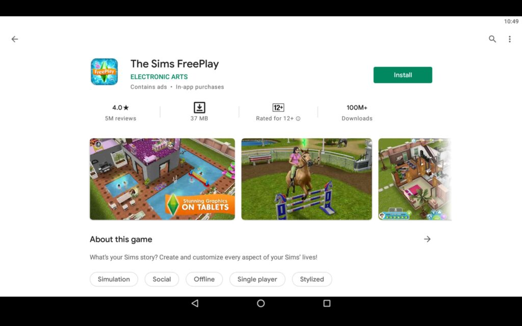 Instalar The Sims Freeplay en PC