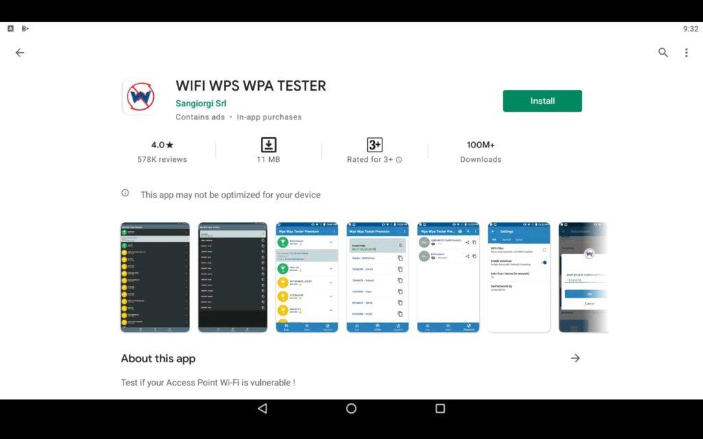Instalar WPS WPA Tester en el PC