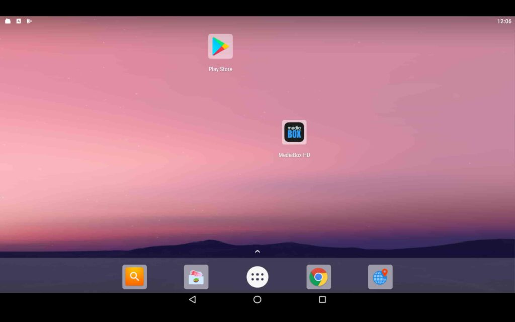 Aplicación de Windows MediaBox HD