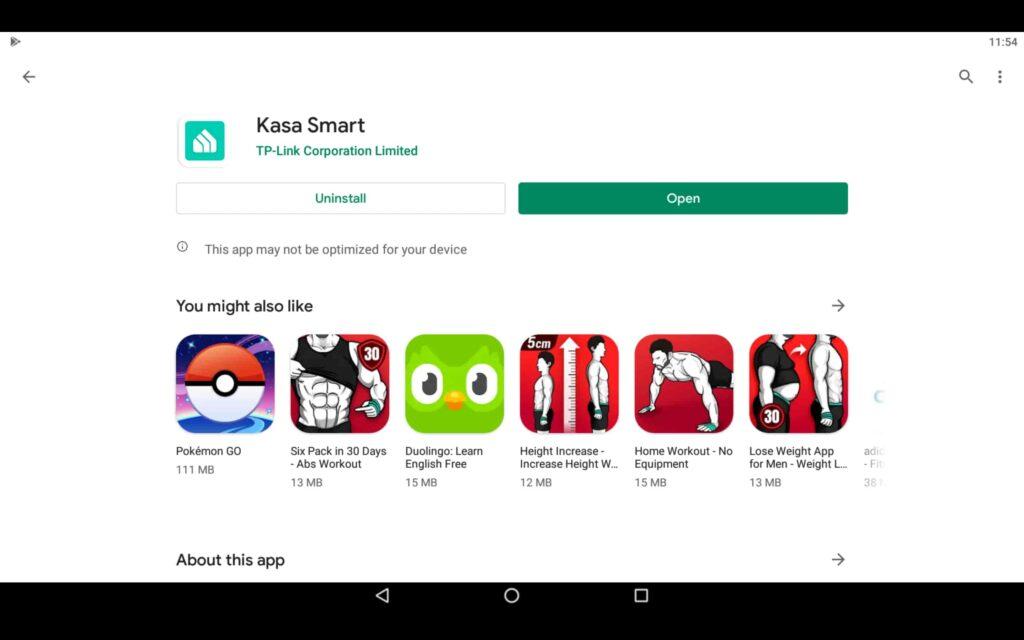 Abrir la aplicación Smart Home