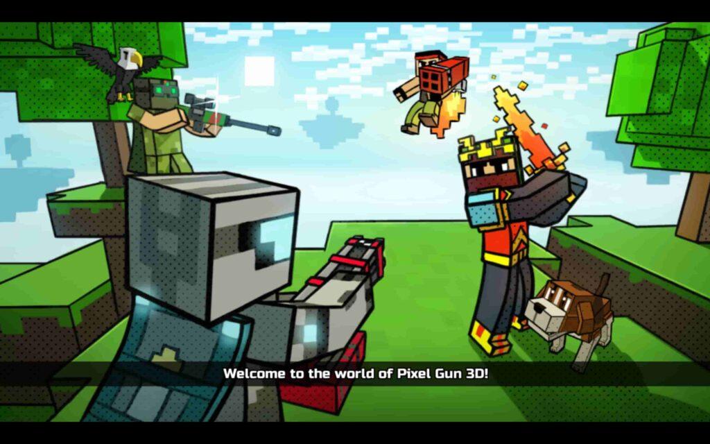Juego de Windows Pixel Gun 3D