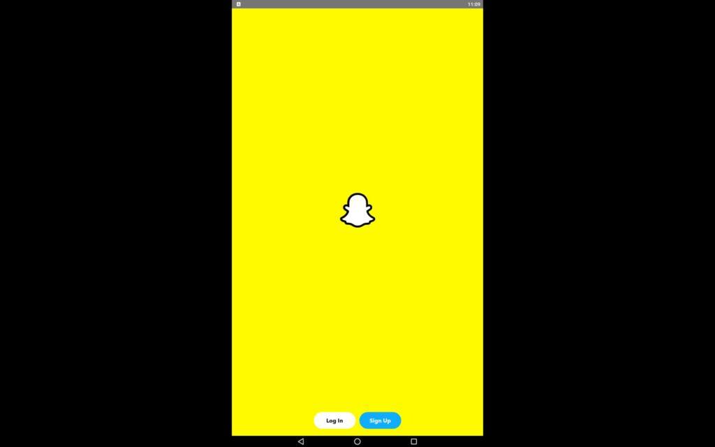 Aplicación Snapchat para Windows