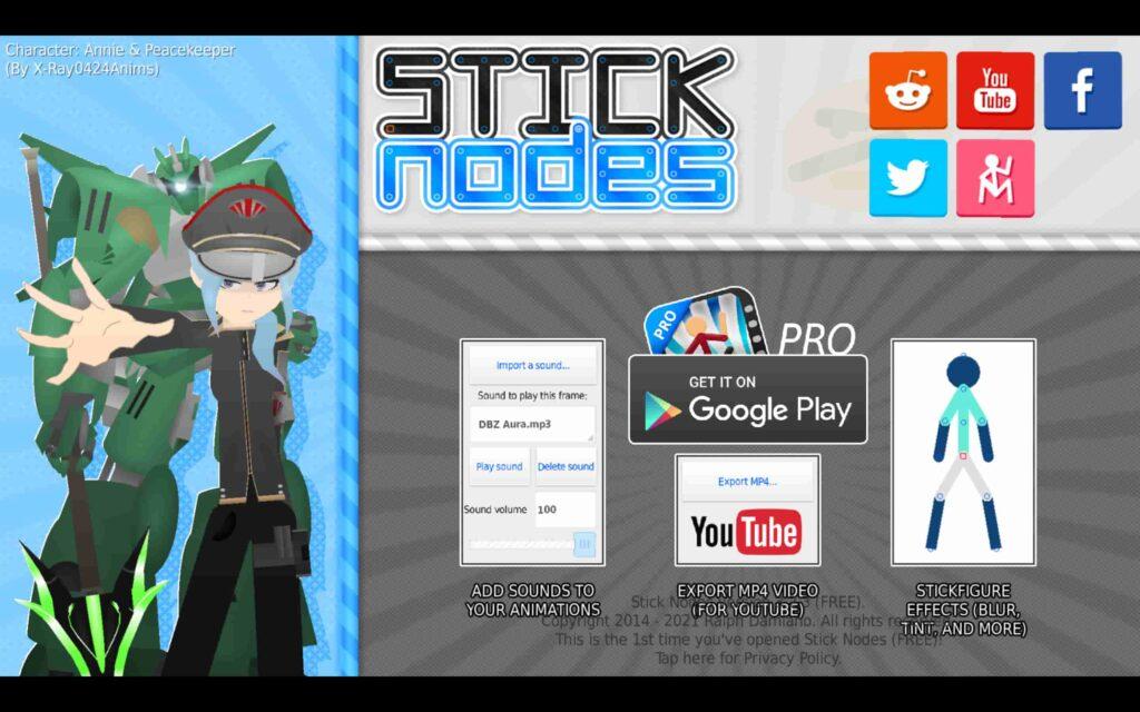 Juego de Windows Stick Nodes