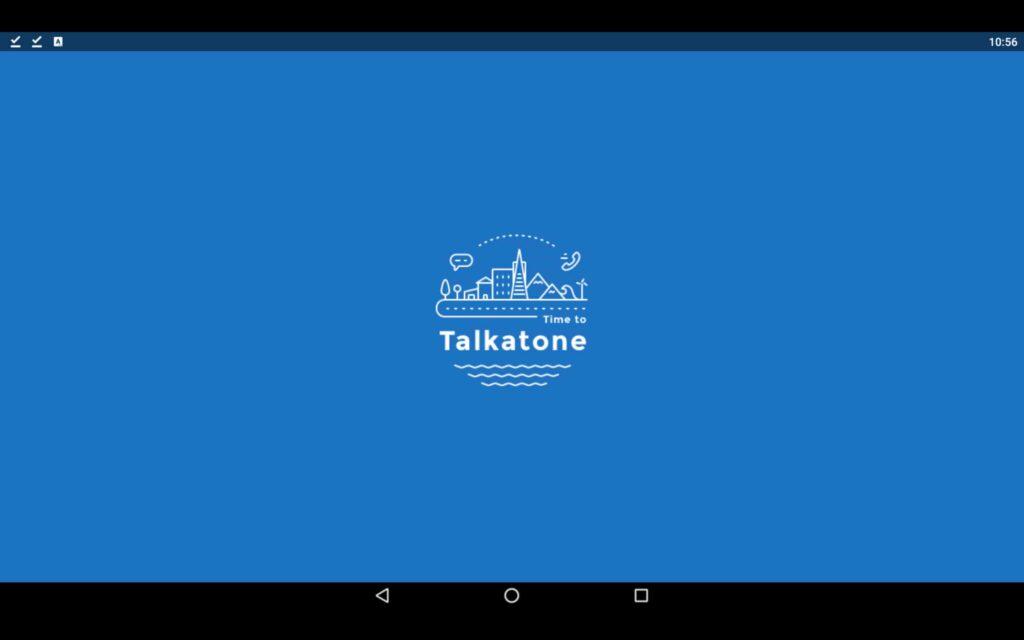 Aplicación de Windows Talkatone