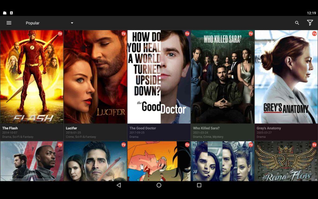 Usa Cinema HD en tu PC