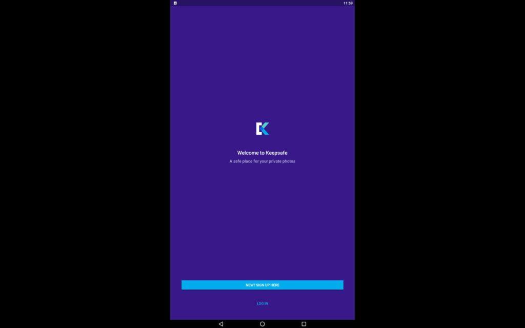 Utilice Keepsafe en el PC