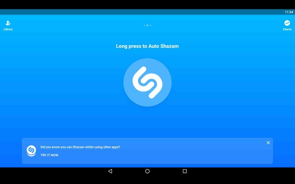 Usa Shazam en tu PC