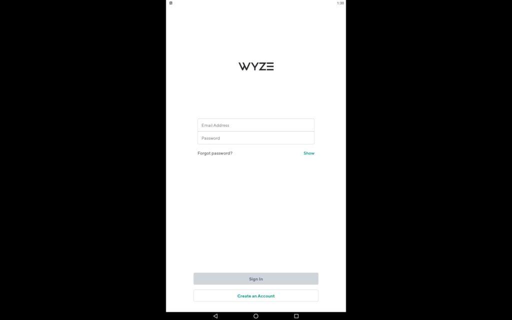 Utilice la aplicación Wyze en PC