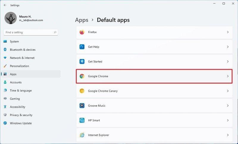 cambiar navegador web windows 11