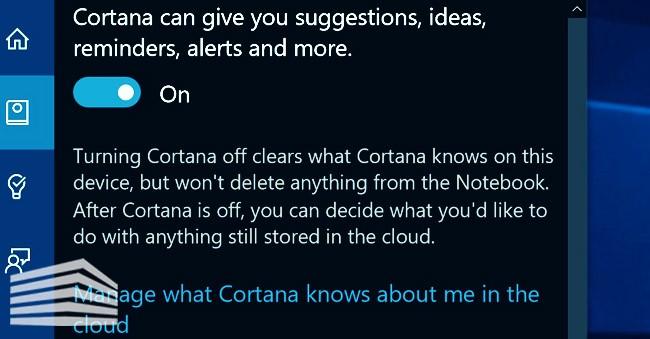 desinstalar Cortana en windows 10